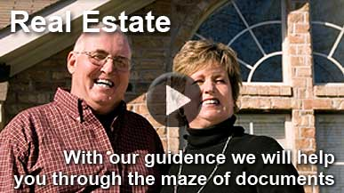 Click here for our Real Estate Informational Video
