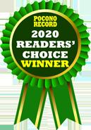 2020 Readers Choice Winner - Stroudsburg PA 18360